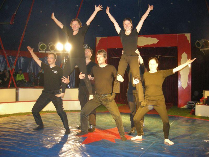 zirkus aufführung kindergarten